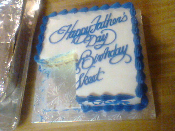 My cake from 2012.