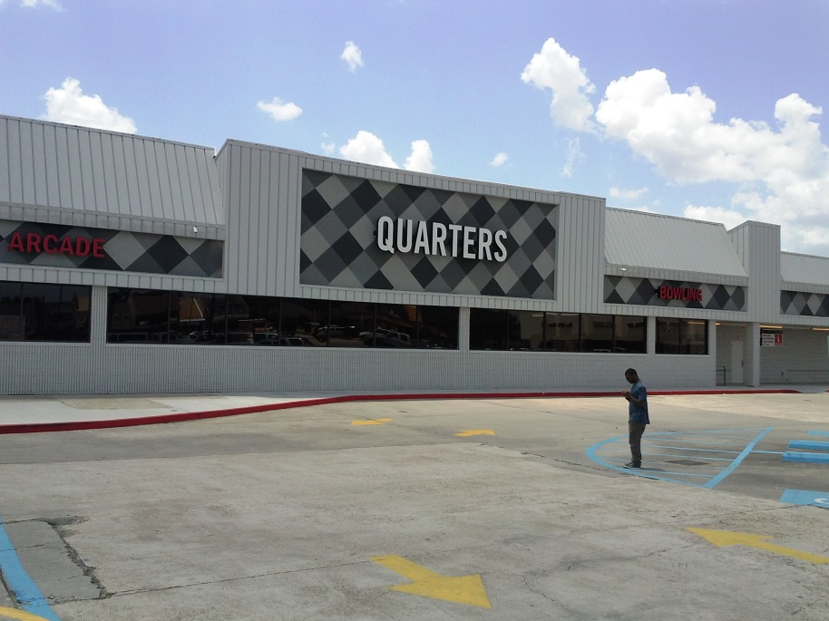 Quarters -- 4530 S. Sherwood Forest Blvd @ Coursey