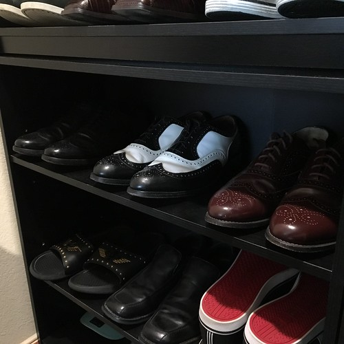 My collection on wingtip shoes.