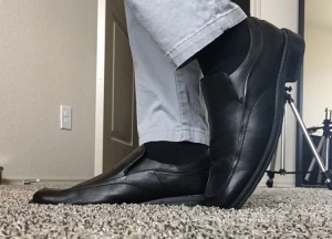 The Corbin shoe, one of the more recent styles from Florsheim.
